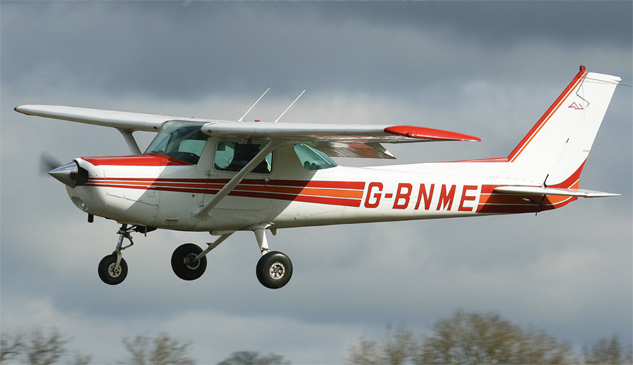 Cessna 152 for training at Wickenby