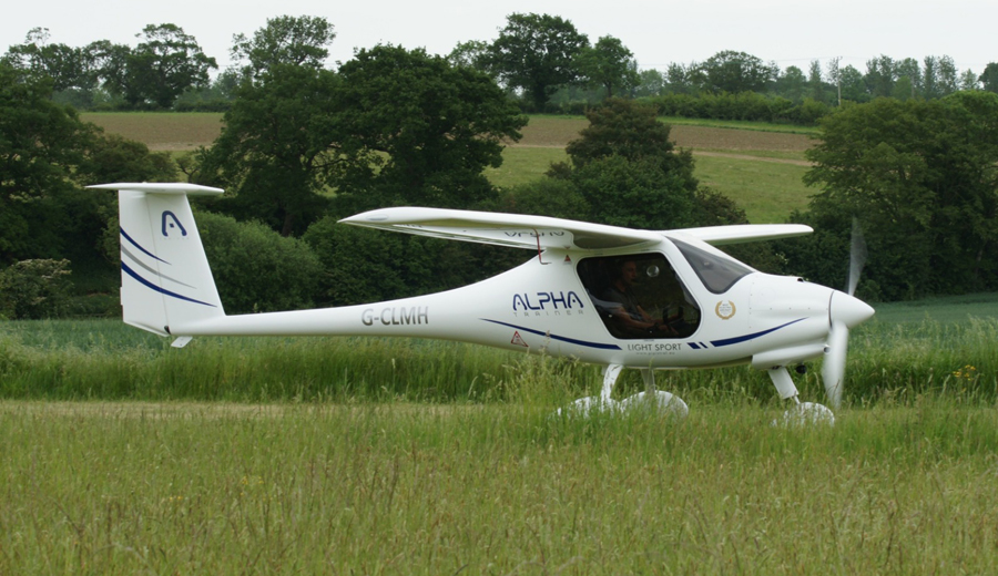 Pipistrel for microlight training and experiences at Wickenby